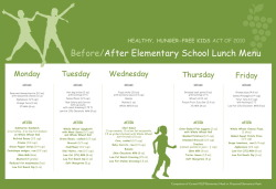 School lunch menu before and after the reform bill. Major improvement! (found on the Huffington Post, posted by: http://obamafoodorama.blogspot.com )