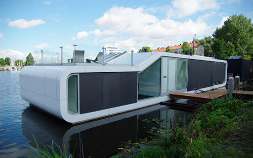Watervilla de Omval in The Netherlands by +31ARCHITECTS | Design Milk