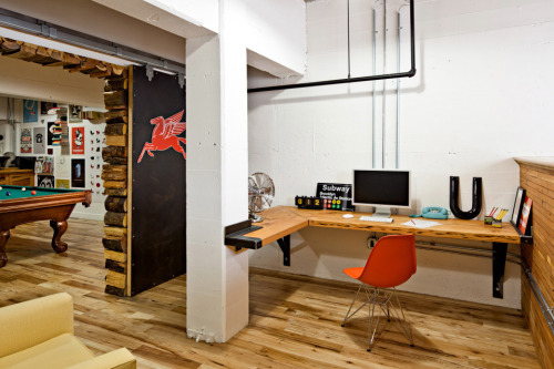The offices of Parliament Design in Portland, OR. As sweet as their work. | submitted by uncharted-territories