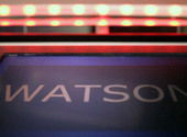 via smarterplanet:  IBM - Watson The IBM computer that will compete on Jeopardy!, represents an impressive leap forward in analytics and systems design. Named after IBM founder Thomas J. Watson, the underlying DeepQA architecture is designed to find the meaning behind a question posed in natural language and deliver a single, precise answer. Watch the video series to find out how this technology could have revolutionary applications in the fields of science, finance, healthcare, and industry.