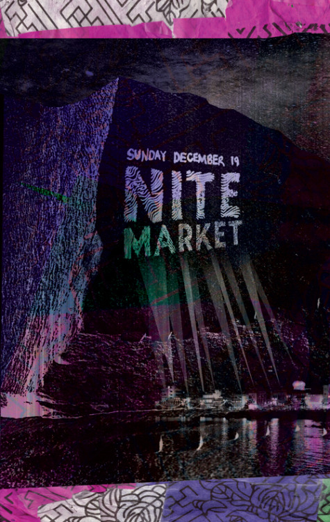 Flyer for a night of world music in Philadelphia called The Nite Market…