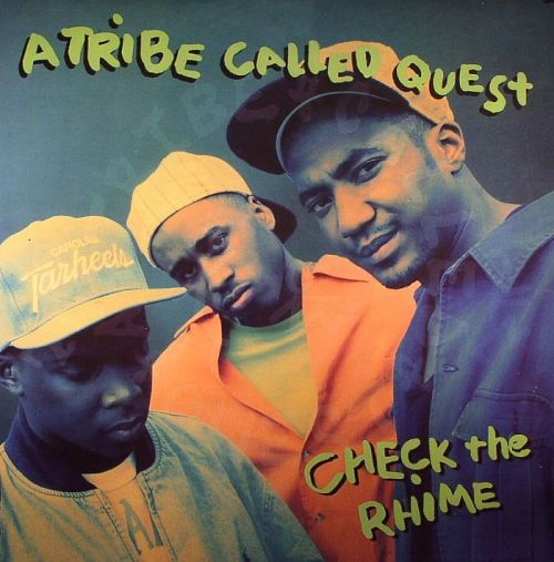 classickmaterial:  ATCQ (A Tribe Called Quest)Check the Rhime