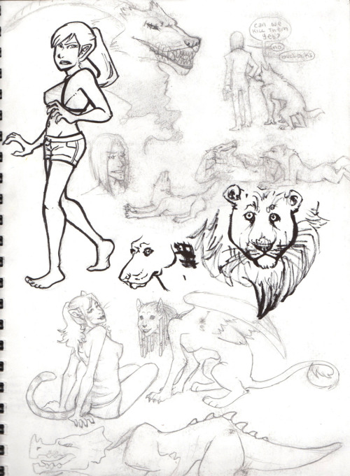 for whatever reason, the first couple pages of my sketchbook always get super smudgy D: But just the first 2 or 3, then it's fine… still playing around with my brush pen from the previous page…