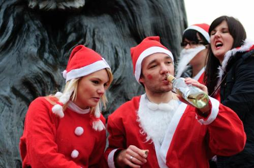 Santacon 2010 London England Photo By Heart & Soul Christmas Around The World 2010