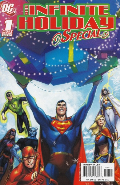 DCU Infinite Holiday Special 2006Cover by Howard Porter