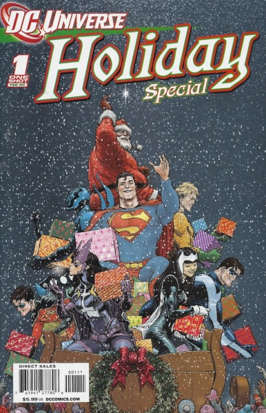 DCU Holiday Special 2008Cover by Frank Quitely