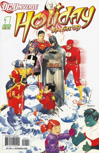 DCU Holiday Special 2009Cover by Dustin Nguyen