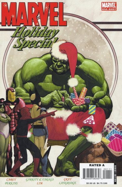 Marvel Holiday Special 2006Cover by Frazer Irving