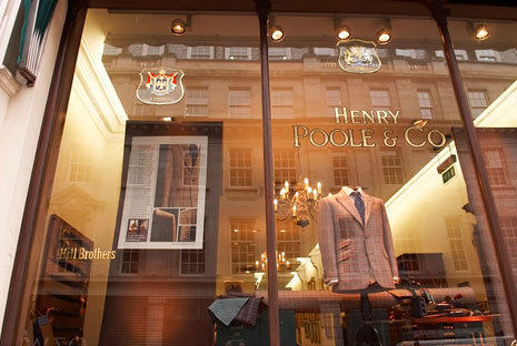 Henry Poole & Co. window display