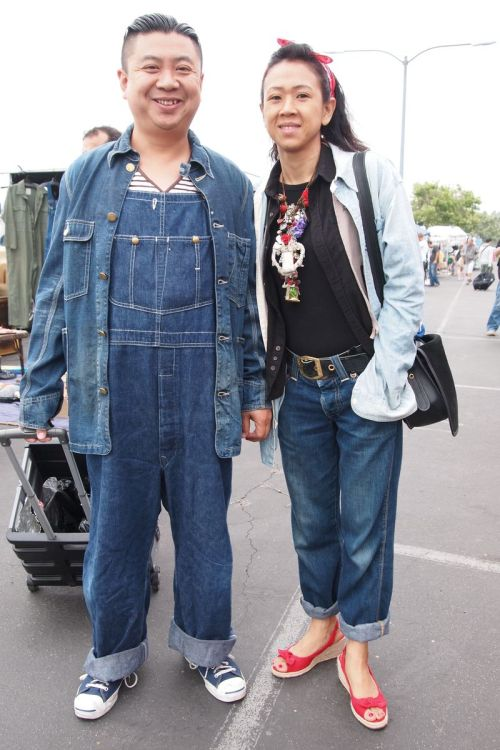 Asians can always take extremes to another level, the biggest denim head I've seen on the net