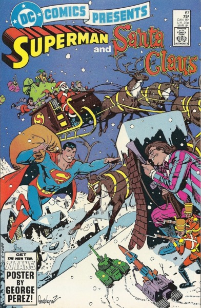 DC Comics Presents #67 (1978)Cover by Jose Luis Garcia-Lopez