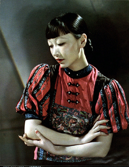 Anna May Wong color carbro print, 1931 by  Nickolas Muray *  from George Eastman House