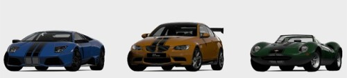 "Free Limited Edition DLC for Gran Turismo 5 According to a post on 4Gamer, Sony Computer Entertainment of Japan has announced a ""Christmas present for Gran Turismo 5 fans"". This present includes the Lamborghini Murcielago LP 640, a BMW M3 Coupe, and a Jaguar XJ13. These ""Chrome Line"" cars will be available in the Playstation Store for free between December 24th and January 31st. There is no announcement made regarding what will happen after the deadline is met for these cars. [1up.] More Free DLC: The Animus Project 1.0 
