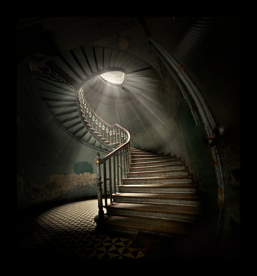"""… old steps to the light …"""