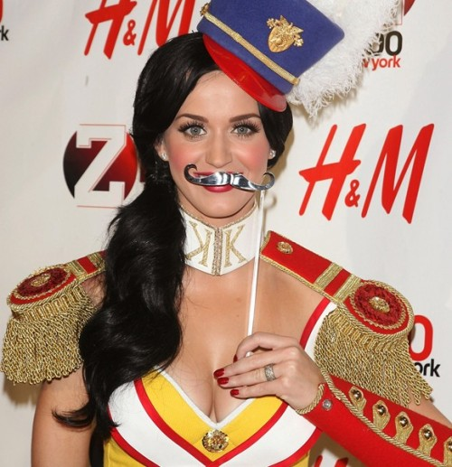 Apparently, Katy Perry likes to wear the boobs and the mustache in her relationship. See more of this week's LOL Pics!