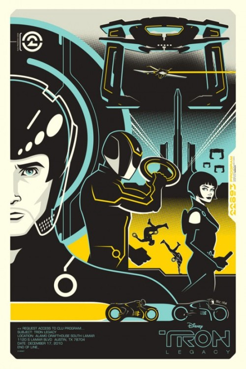 TRON: Legacy By Eric Tan