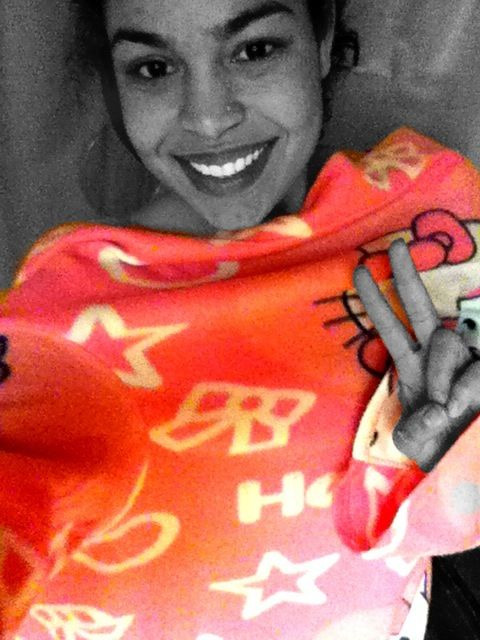 Hello hello kitty snuggie. Hello kitty snuggie.