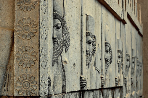 The Immortals, Tripylon Staircase - Persepolis - Iran