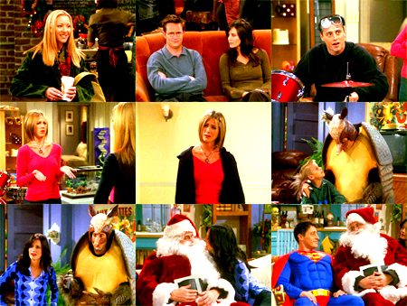 "My Top Ten Christmas/Holiday Episodes of TV Shows (requested by myownsinkingship) #10- Friends 7x10 ""The One With the Holiday Armadillo"""