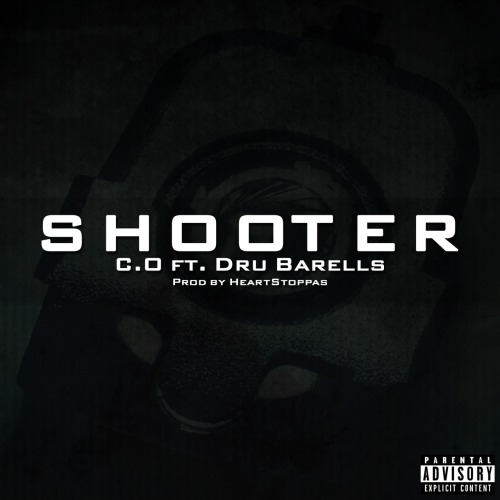goldmedalmuzik:  C.O ft Dru Barells 'Shooter' [Prod by HeartStoppas]: http://usershare.net/vqkzqznqv7jo