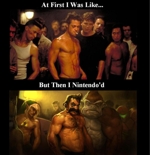 Fight club nintendo'd