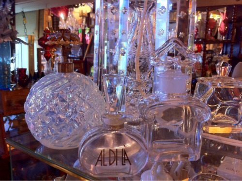 French Crystal Perfume Bottles