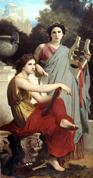 William-Adolphe Bouguereau - Lart et la Litterature