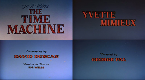 The Time Machine (George Pal - 1960)