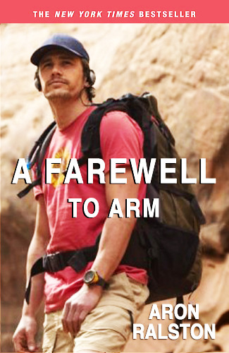 Reader Submission: Title by Caitie Peterson. Aron Ralston: 127 Hours: Between a Rock and a Hard Place