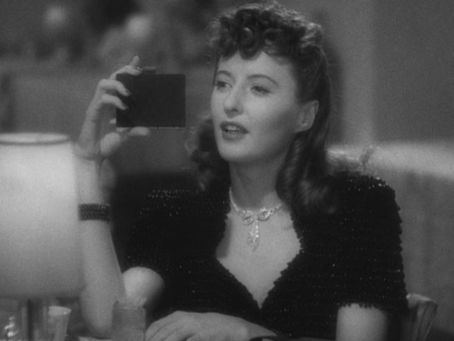 Barbara Stanwyck in The Lady Eve (1941) Image Source
