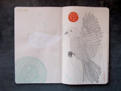 Sketchbook Project Page 1 (by Geninne)