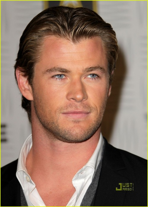 Chris Hemsworth at the Video Games Awards