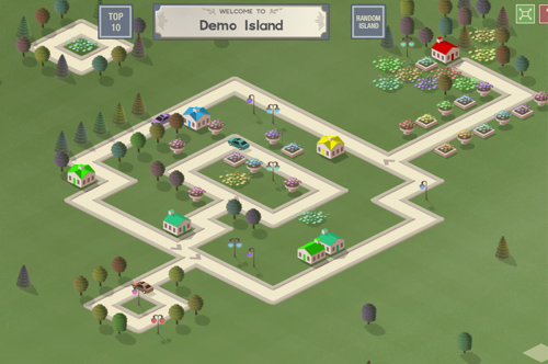 Isle of Tune Question: What happens when you cross Sim City with a music sequencer? Answer: http://isleoftune.com/ Create roads as tracks, streetlights as percussion, houses as samples etc …. I think you all will enjoy it :)