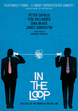 In The Loop - (Dir. Armando Iannucci, 2009) I will flat out say that this was the funniest movie of 2009. Poignant, vulgar, scathing and wacky, In The Loop fires on all cylinders for the entire 100 minutes. Throw out the name of any actor in this film and you have a terrific, spot-on performance. Peter Capaldi, James Gandolfini, Tom Hollander, Chris Addison, Mimi Kennedy and Anna Chlumsky, just to name a few, all turn in hilariously committed performances. This is a film that doesn't shy away from its political satire, and the result is a strikingly grim, dark and laugh-out-loud look at US and UK politics.  A-