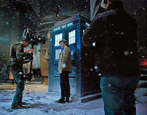 40 Essential Christmas TV Things 2) Doctor Who Why So Unmissable? It's a Doctor Who Christmas episode, for a start. But it's also our first chance to celebrate the season with new Doctor Matt Smith, who here has a run in with Michael Gambon's miserable scrooge-like Kazran. Yeah, it's a re-telling of A Christmas Carol, with a distinctly Whovian bent. When's It On? Christmas Day, BBC1