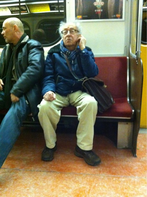 Mr. Magoo lost his cane and sunglasses on the TTC!