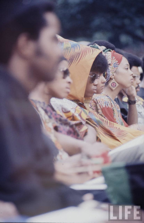 hybridchic:  1970 HU (Howard University) Graduation. Go bison.