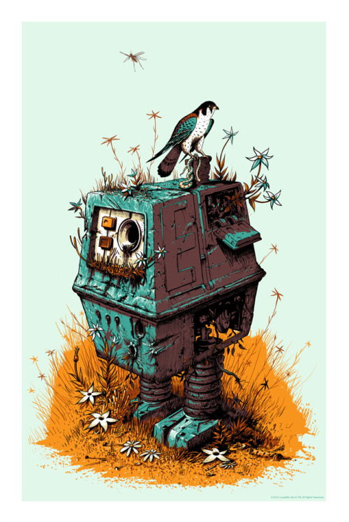 'Scrap Yard Power Droid' by Jeff Soto From this amazing article on Wired.