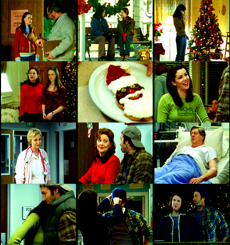 "My Top Ten Christmas/Holiday Episodes of TV Shows (requested by myownsinkingship) #4- Gilmore Girls 1x10 ""Forgiveness and Stuff"""