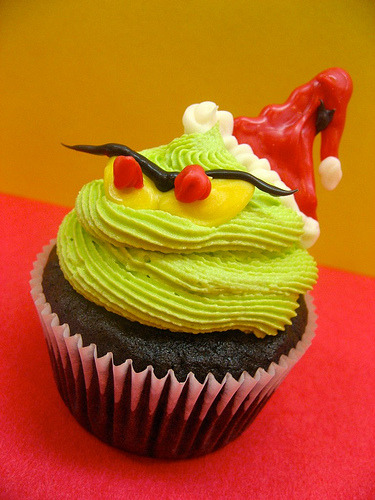 The Grinch stole my cupcakes!