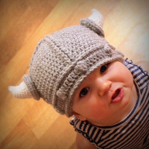 Lael Viking Hat PDF Crochet Pattern Sizes Newborn to by Mamachee **ETA** Ravelry Link: Lael Viking Hat