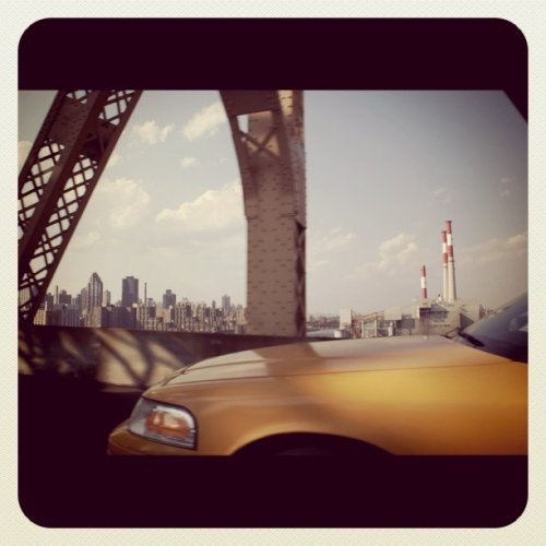 On the Queensboro bridge (Taken with Instagram at NYC)