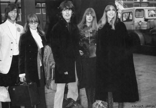 ★SCAN 〜 John, Cyn, George, Jenny & Pattie Boyd 1968