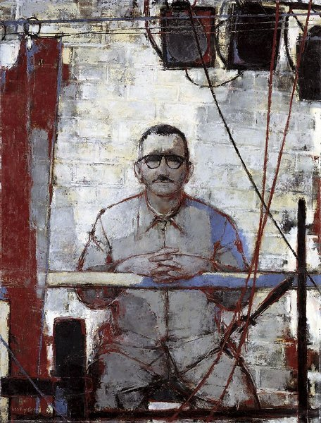 "Bert Heller, portrait of Bertolt Brecht, 1955-56  ""The worst illiterate is the political illiterate, he doesn't hear, doesn't speak, nor participates in the political events. He doesn't know the cost of life, the price of the bean, of the fish, of the flour, of the rent, of the shoes and of the medicine, all depends on political decisions. The political illiterate is so stupid that he is proud and swells his chest saying that he hates politics. The imbecile doesn't know that, from his political ignorance is born the prostitute, the abandoned child, and the worst thieves of all, the bad politician, corrupted and flunky of the national and multinational companies.""  Bertolt Brecht  thecabinet:"