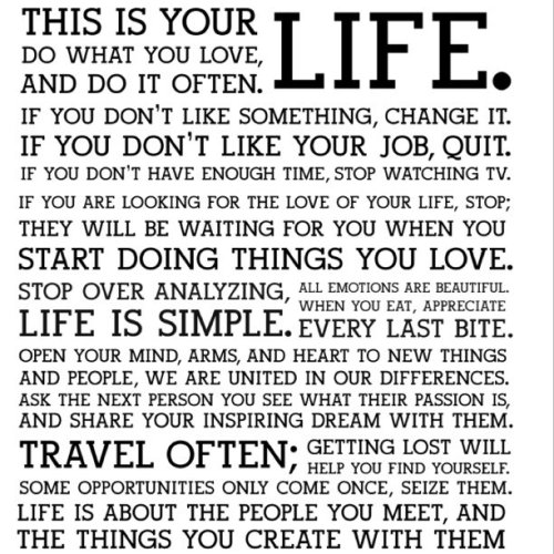 the @holstee manifesto…continues over at http://i.jeff.ly/holstee (Taken with instagram)  via jeffcarroll