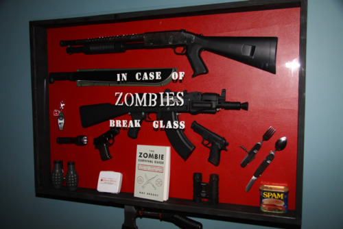 laughingsquid:  In Case of Zombies Break Glass