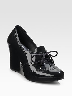 Shoe Of The Day: Melissa Wedge Booties
