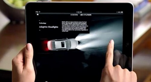 Hyundai's Equus luxury car comes with a revolutionary iPad owner's manual - just as much a branding tool as a resource. via PSFK