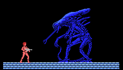 from the Aliens video game, 1987