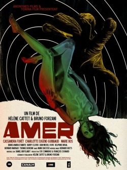 Amer - (Dir. Helene Cattet & Bruno Forzani, 2009) Pulling from the likes of Argento, Polanski and the giallo genre, Amer is an astonishingly well-crafted sexual thriller and a near-perfect exercise in the power of the male gaze. Separated into three distinct acts, Amer pieces together snapshots of Ana's life, as she stumbles upon her parents having rough sex (rape is a word that you could come very close to using) and, as a teenager, deals with the outgoing sexuality of her mother and her own blossoming beauty. What makes Amer so powerful is that every scene seems to be a collection of sensations. We feel the wind blowing Ana's skirt in the cab, and shrink with horror as a shrouded figure encloses Ana within her dark fabric. These sensations don't always connect, especially in the third act, but for the most part, Amer is a tense and beautifully shot film that isn't afraid to flaunt and bend its numerous genre influences.  B+